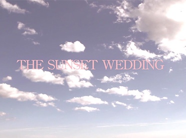 The Sunset Wedding